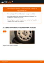 Hátsó kerékcsapágy-csere Fiat Punto 188 gépkocsin – Útmutató