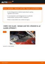 NISSAN hátsó és első Lengéscsillapító szett cseréje csináld-magad - online útmutató pdf