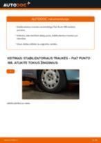 Automechanikų rekomendacijos FIAT Fiat Punto 188 1.2 16V 80 Spyruoklės keitimui