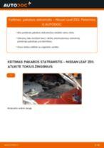 Automechanikų rekomendacijos NISSAN NISSAN LEAF Elektrik Oro filtras, keleivio vieta keitimui