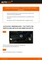 Wie Fiat Punto 188 Bremsbacken hinten wechseln - Anleitung