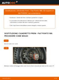 Come effettuare una sostituzione di Cilindro Freno Ruota su FIAT ? Dai un'occhiata alla nostra guida dettagliata e scopri come farlo
