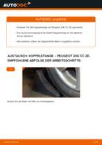 Montage Motorkühler PEUGEOT 206 CC (2D) - Schritt für Schritt Anleitung