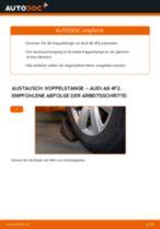 Schritt-für-Schritt-PDF-Tutorial zum Koppelstange-Austausch beim AUDI A6 (4F2, C6)
