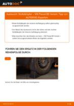 Wie VW Passat B5 Variant Stoßdämpfer hinten wechseln - Schritt für Schritt Anleitung