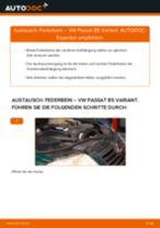 Wie VW Passat B5 Variant Federbein vorne wechseln - Schritt für Schritt Anleitung
