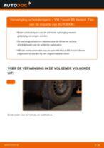Schokbrekers vervangen VW PASSAT: werkplaatshandboek