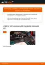 Luchtfilter VW PASSAT Variant (3B6) monteren - stap-voor-stap tutorial
