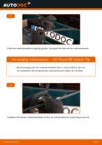 Ruitenwissers vervangen VW PASSAT: werkplaatshandboek