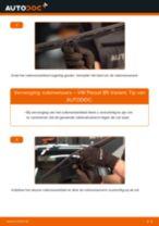 Ruitenwisserblad VW PASSAT Variant (3B6) monteren - stap-voor-stap tutorial