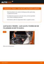 AUDI A6 Wartungsanweisung