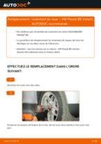 Tutoriel PDF étape par étape sur le changement de Roulement De Roues sur VW PASSAT Variant (3B6)