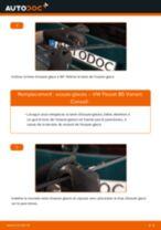 Comment changer : essuie-glaces arrière sur VW Passat B5 Variant - Guide de remplacement