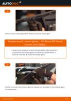Comment changer : essuie-glaces avant sur VW Passat B5 Variant - Guide de remplacement