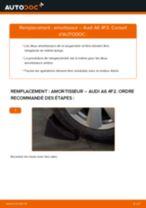 Comment changer : amortisseur arrière sur Audi A6 4F2 - Guide de remplacement