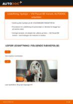 Udskift hjullejer for - VW Passat B5 Variant   Brugeranvisning
