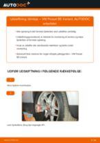 Udskift tårnleje for - VW Passat B5 Variant   Brugeranvisning