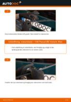 Udskift viskerblade bag - VW Passat B5 Variant | Brugeranvisning