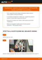 Impara a risolvere il problema con Supporto Ammortizzatore anteriore e posteriore VW