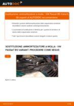 Manuale online su come cambiare Kit ammortizzatori VW PASSAT Variant (3B6)