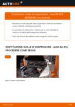 Sostituzione Molla autotelaio AUDI A6: pdf gratuito