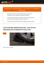 Montaggio Kit ammortizzatori AUDI A6 (4F2, C6) - video gratuito