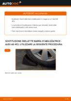 Impara a risolvere il problema con Biellette Barra Stabilizzatrice posteriore e anteriore AUDI