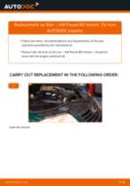 DIY VW change Air Filter - online manual pdf