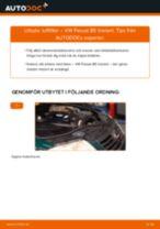 Byta luftfilter på VW Passat B5 Variant – utbytesguide