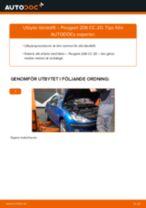 Steg-för-steg Peugeot 308 SW Kombi reparationsguide
