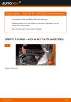 Byta fjädrar fram på Audi A6 4F2 – utbytesguide