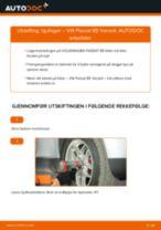 Slik bytter du hjullager fremme på en VW Passat B5 Variant – veiledning