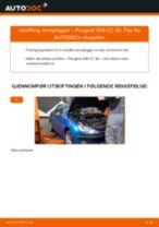 DIY-manual for utskifting av Tennplugger i PEUGEOT 206 2020