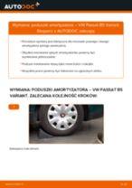 Jak wymienić poduszka amortyzatora tył w VW Passat B5 Variant - poradnik naprawy