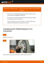 Jak wymienić łożysko koła przód w VW Passat B5 Variant - poradnik naprawy