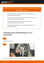Jak wymienić poduszka amortyzatora przód w VW Passat B5 Variant - poradnik naprawy