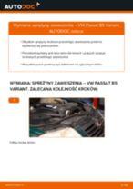 Zalecenia mechanika samochodowego dotyczącego tego, jak wymienić VW Passat 3B6 1.8 T 20V Zawieszenie
