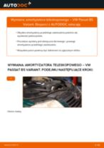 Instrukcja samodzielnej wymiany Amortyzator w VW PASSAT