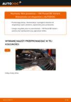 Jak wymienić filtr powietrza w VW Passat B5 Variant - poradnik naprawy