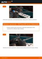 Jak wymienić wycieraczki tył w VW Passat B5 Variant - poradnik naprawy