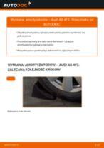 Wymiana Amortyzator AUDI A6: instrukcja napraw