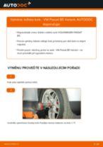 Doporučení od automechaniků k výměně VW Passat B6 2.0 TDI 16V Lozisko kola