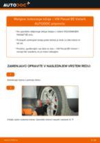 Kako zamenjati avtodel kolesni ležaji spredaj na avtu VW Passat B5 Variant – vodnik menjave