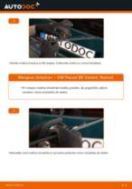 Kako zamenjati in prilagoditi Metlice brisalcev VW PASSAT: vodnik pdf