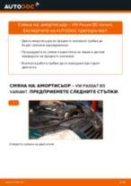 Научете как да отстраните проблемите с предни Амортисьор VW
