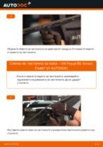 Как се сменят предни чистачки за кола на VW Passat B5 Variant – Ръководство за смяна