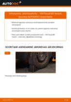 Asendamine Amort VW PASSAT: käsiraamatute