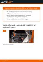 Cseréljünk Lengéscsillapító AUDI A6: felhasználói kézikönyv