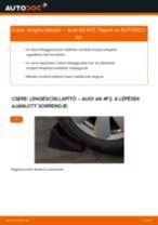 AUDI A6 (4F2, C6) Lengéscsillapító szett beszerelése - lépésről-lépésre útmutató