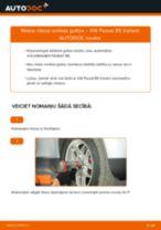 Mainīties VW PASSAT Variant (3B6) Riteņa rumbas gultnis - soli-pa-solim pamācības PDF